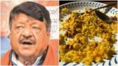 BJP leader Kailash Vijayvargiya calls workers Bangladeshi for eating Poha. Twitter blasts him