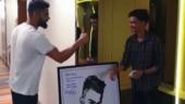 Die-hard Virat Kohli fan makes Indian captain's portrait using old mobile phones and wires