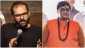 Kunal Kamra banned but Pragya Thakur can fly. Why the hypocrisy, asks Internet