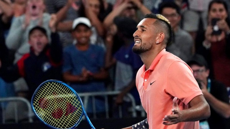 Image result for nick kyrgios 2020 aus open