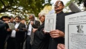 Lawyers in Delhi hit streets to protest against CAA, NRC and NPR