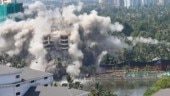 All 4 of Kerala's posh Maradu flats turn to dust in seconds | Watch video