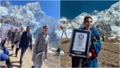 Nepal sets world record for holding the highest altitude fashion show on land
