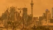 New Zealand sky turns orange due to Australia bushfires. Pics and videos