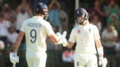 Cape Town Test: Ollie Pope lifts England to 262 for 9 with fighting fifty