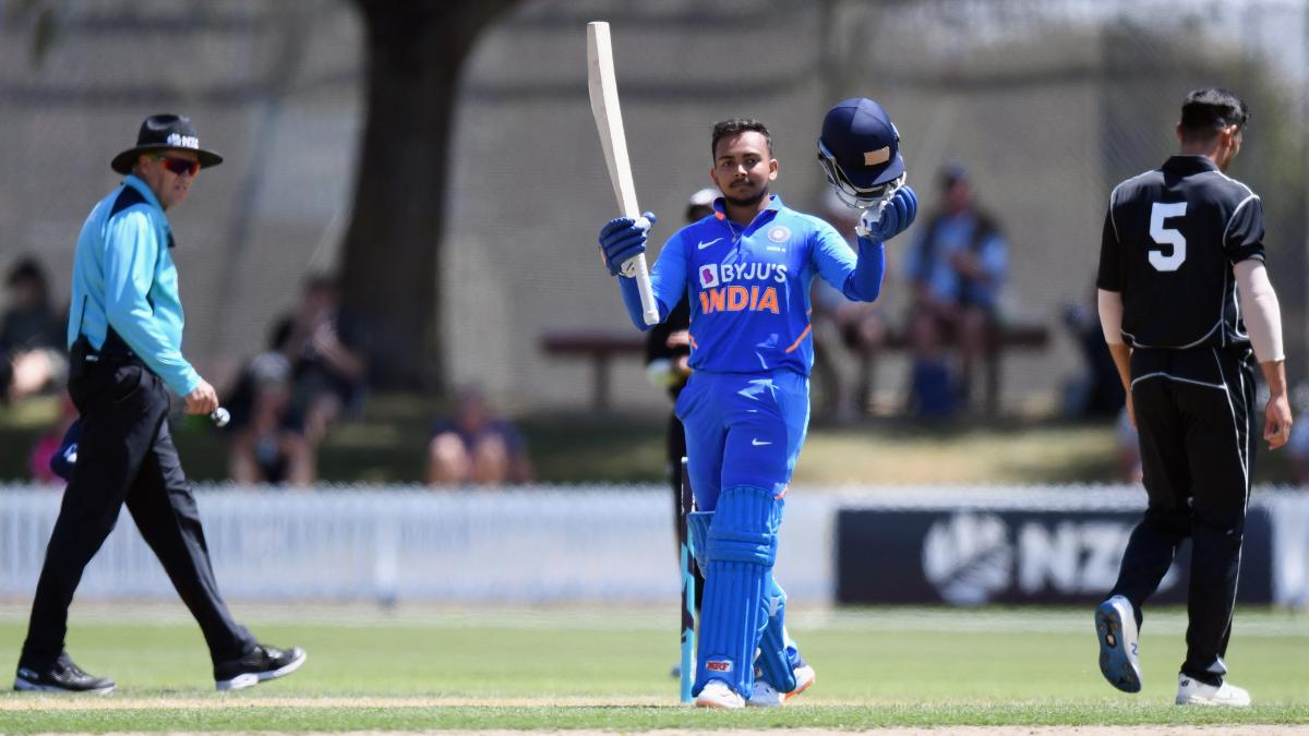 Image result for prithvi shaw ODI call-up