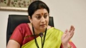 FIR lodged for using Smriti's pic in real estate ad