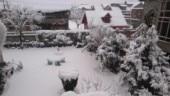Heavy snow in Kashmir Valley