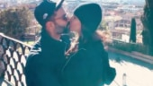 Sonam Kapoor and hubby Anand Ahuja seal the decade with a kiss in Rome. Watch video