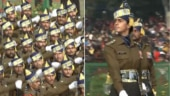 Nari Shakti at R-Day parade: Watch Army Capt Tania Shergill lead all-men contingent