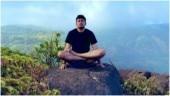 Tejasvi Surya pulls off yoga asanas at breathtaking location. Who needs a gym!