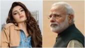 Urvashi Rautela bashed for copying PM Modi's tweet for Shabana Azmi. Cut copy paste, says Twitter