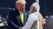 Long live Indo-US friendship: PM Modi says Namaste Trump in welcome speech at Motera Stadium