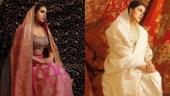 Sara Ali Khan in pink lehenga recreates mom Amrita Singh's iconic pic. Same to same, says Internet