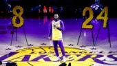 I want to continue his legacy: LeBron James delivers emotional speech honouring Kobe Bryant