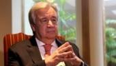 UN chief says coronavirus poses enormous risks