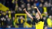 Erling Haaland brace gives Borussia Dortmund first leg win over Paris Saint Germain