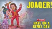 Amul pays glowing tribute to Joaquin Phoenix for Oscar speech on animal rights. Gets roasted by PETA
