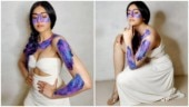 Adah Sharma's badan pe sitare make-up will hurt your eyes. See pics
