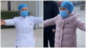 Nurse treating coronavirus patients in China gives air hug to daughter. Heartbreaking video