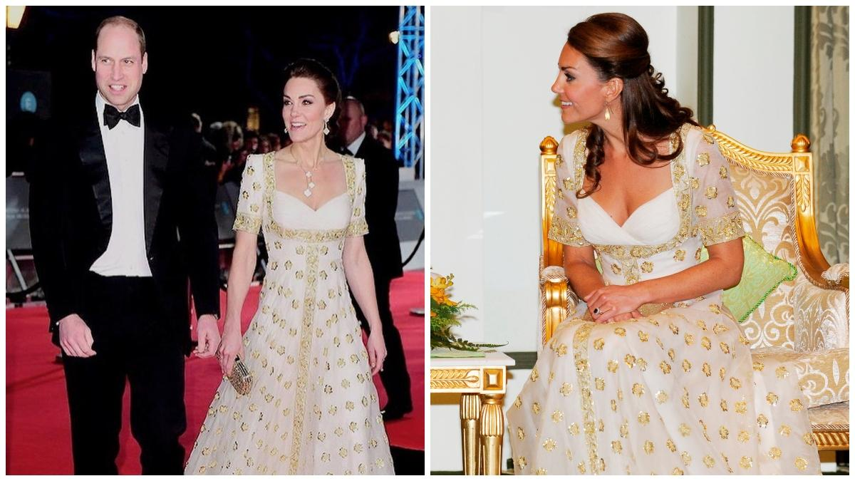 Kate Middleton Repeats 8 Year Old Gown At Baftas 2020 With Prince