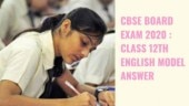 Check here the model answer sheet of the toppers of the 2019 class 12th English exam.