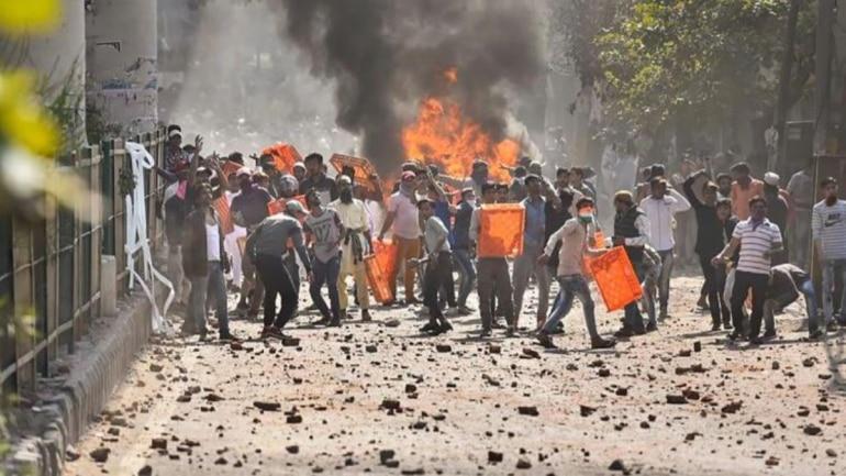 Image result for delhi violence