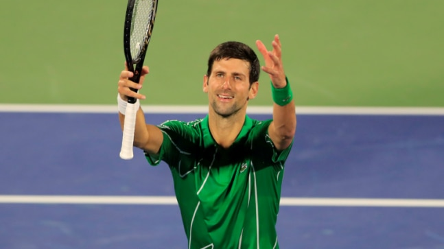 Dubai Championships Novak Djokovic Stefanos Tsitsipas Enter Quarterfinals All India News Bing News Quiz