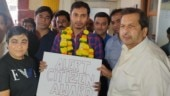 Mumbai BJP chief honours Uber driver for informing cops about man who discussed anti-CAA protest in his cab
