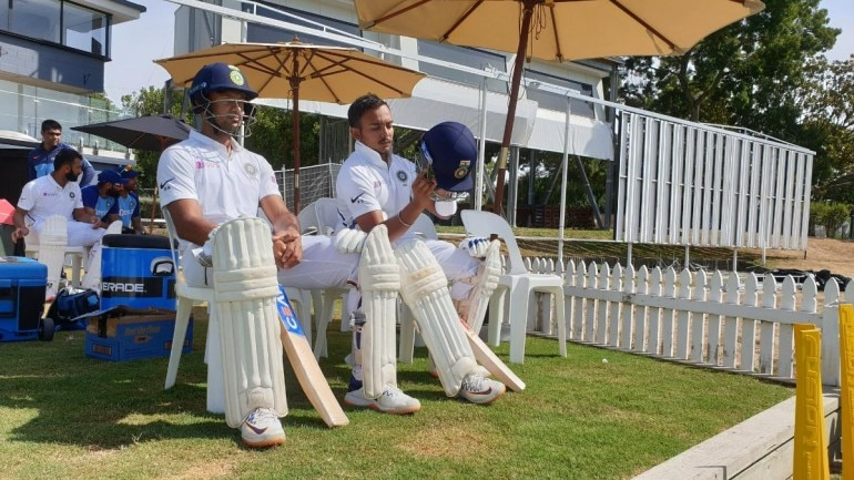 Image result for Mayank-Prithvi 1st Test vs New Zealand