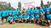 Eastern air commander flags off IAF's cycling expedition in Guwahati