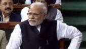 Word from PM Modi's speech in Rajya Sabha expunged
