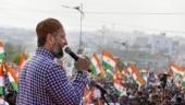 Owaisi hints at 'jail bharo' over slapping of cases on Modi critics
