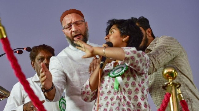 It was wrong, will not tolerate this: Father of woman who chanted Pakistan Zindabad at Owaisi's rally