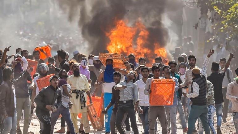 Image result for delhi violence images