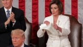 Trump snubs Nancy Pelosi, she tears up his speech. Latest viral meme wins Internet over