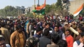 Shaheen Bagh protest: Locals stage demonstration against closure of Kalindi Kunj road