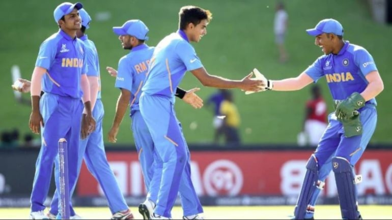 India have been undefeated so far in the U19 World Cup. (Twitter/@cricketworldcup)