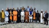 PM Modi hands over chadar for Ajmer Sharif dargah
