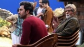 Amitabh Bachchan shares BTS pics with Ranbir Kapoor from Brahmastra sets: With one of my favourites
