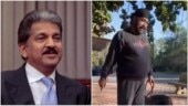 Anand Mahindra shares delightful video of man's poetry session in park. Internet loves it