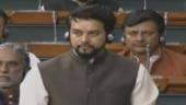 Anurag Thakur's Parliament speech met with cries of goli marna bandh karo