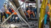 Over-bridge at Bhopal rail station collapses on passengers, several injured