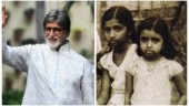 Amitabh Bachchan shares unseen childhood pic of Lata Mangeshkar and Asha Bhosle