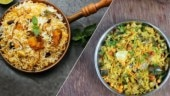 Election on your plate: Biryani, poha, take your pick.