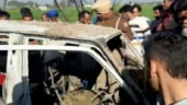 Punjab: 4 kids charred to death after school van catches fire in Sangrur