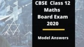 CBSE 12th Mathematics Exam 2020 model answer sheet: Here's how to answer your Maths paper like a topper