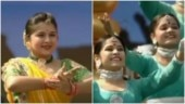 Screenshots from videos posted on ANI.