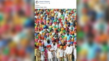 Fact Check: This is turban tying competition from Bathinda, not Shaheen Bagh protest