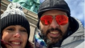 Yuvraj Singh braves a freezing day for Hazel Keech: Only because it is your birthday